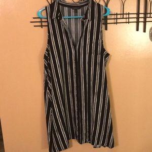 Banana Republic striped tunic dress size XL